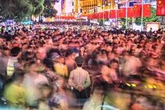 Crowded Shanghai