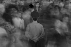 Crowded Shanghai B/W