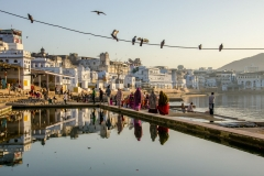 Reflections in Pushkar