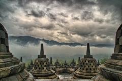 Misty Borobudur